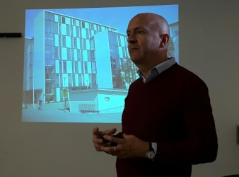 PHIL ASTLEY IN THE UJ_UNIT2 STUDIO: RETHINKING HEALTHCARE IN CITIES